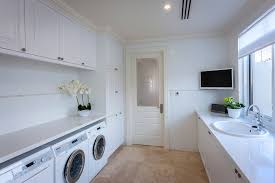 Large Laundry Room Ideas - large utility room ideas laundry room traditional with white
