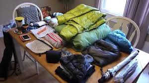 Clothing Advice Perfect Gear For by Gear For A 3 Day Backpacking Trip Youtube
