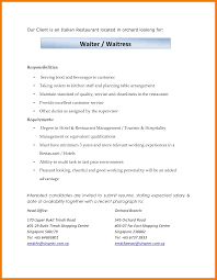Resume Samples For Waitress by 8 Waitress Duties On Resume Resume Holder