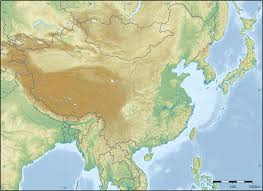 Eastern Asia Map East Asia Blog
