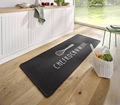 chemin de cuisine photo chemin de cuisine de tapis cuisine chef work gris kl de 18 amazon