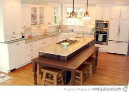 kitchen island table combo island kitchen table beautiful kitchen island with table attached