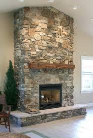 faux stone veneer fireplace surround dry stack panels veneers