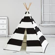 a teepee to call your own black stripe the land of nod