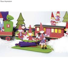 kinder bastelsets kids craft kits christmas train craft kit 1