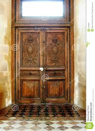 old wooden door stock photos image 6125653