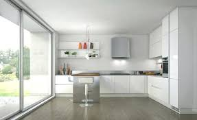 cuisine blanche brillante peinture blanche laquee best with cuisine blanc et bois peinture