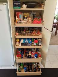 kitchen corner cabinet pull out shelves pantry cabinets with pull out shelves naples spice drawer home