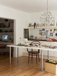 White Office Decorating Ideas Creative Home Office Decor Ideas To Effeciently Utilize Small Spaces