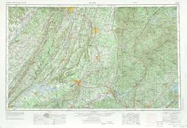 Eastern Tennessee Map by