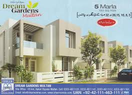 5 marla house layout drawings in dream gardens multan real