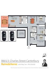 Canterbury Floor Plan by B601 1 Charles Street Canterbury Nsw 2193 Sold
