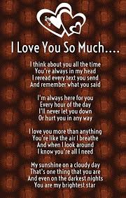 quotes about for him i you so much poems for him and
