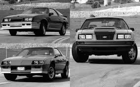 1983 chevrolet camaro comparison 1983 ford mustang gt vs 1983 chevrolet camaro z28 vs