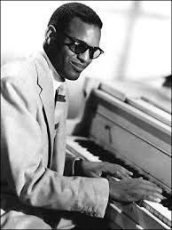 Black Blind Musician Ray Charles Robinson My Hero