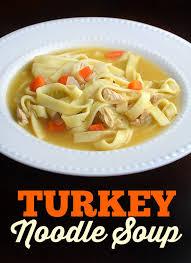 turkey noodle soup thanksgiving leftovers
