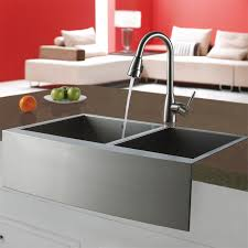 vigo stainless steel pull out kitchen faucet vigo industries vigo stainless steel pull out spray kitchen faucet