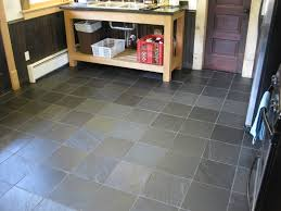 slate kitchen floor problems with the installation of
