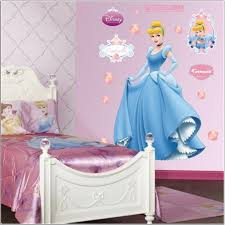 Girly Wall Stickers Bedroom Baby Girl Room Pink And Brown Wall Decoration Painting