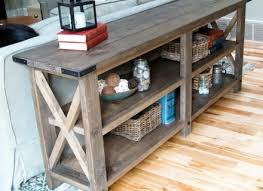living room stylish ana white rustic x end table diy projects