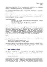 What To Put As Skills On Resume Selection Of Indicators For Hospital Performance Mesurement