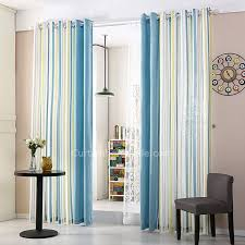 Grey White Striped Curtains Blue And White Striped Curtains Modern Window Curtains