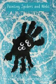 10 kids halloween handprint and footprint ideas beesdiy com