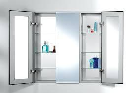 3 Door Mirrored Bathroom Cabinet 3 Way Medicine Cabinet Mirror Best Medicine Cabinet Redo Ideas On