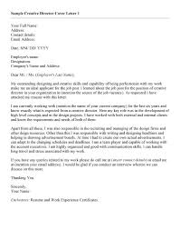 cover letter art director letter idea 2018