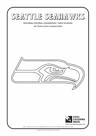 free printable football coloring pages kids for seahawks glum me