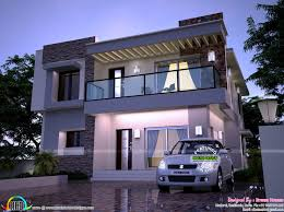 modern home in 2200 sq ft kerala home design and floor plans