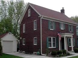Brick Colonial House Plans House Brick Colonial House Plans