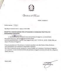 rinovo permesso di soggiorno how to obtain italian permesso di soggiorno permission for living