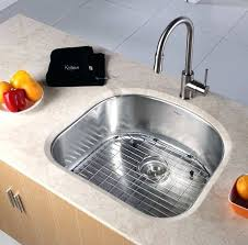 kraus kbu10 23 inch undermount single bowl kitchen sink with 16