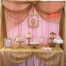 pink gold baby shower pink and gold baby shower baby shower party ideas gold baby