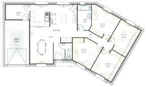 plan maison 4 chambres etage plan maison etage 4 chambres 1 bureau en v plain pied 9 coration