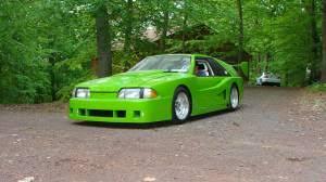 Black And Lime Green Mustang Craigslist Find U201cultra High Speed U201d Neon Green U002787 Mustang Stangtv