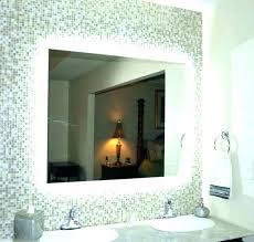 Lighted Bathroom Mirrors Hanging Vanity Mirror Bathroom Mirror With Lights Wall Mounted