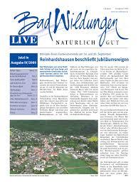 Parkland Klinik Bad Wildungen Http Www Badwildungen De Bwlive0409 By Reckhard Pfeil Issuu