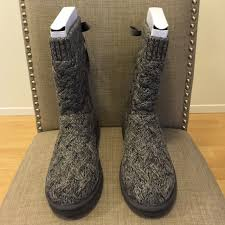 ugg womens knit boots ugg ugg australia blythe knit boot from str8offtherack s