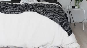 Black And White Bed Punctuality Black And White Pattern Bed Sheets Tags White