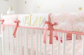 pink and gold nursery bedding palmyralibrary org