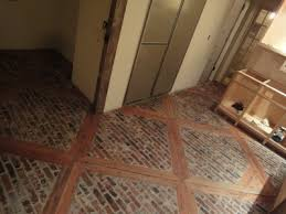 gorgeous wood and brick kitchen floor the homestead survival
