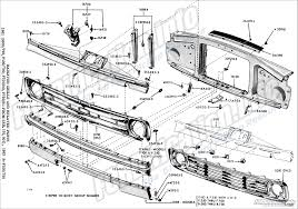 frame u0026 body schematics fordification info the u002761 u002766 ford