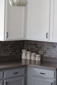 Painting Kitchen Laminate Cabinets Before And After Bathroom Diy Painted Laminate Counters And