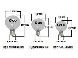 Led Light Bulbs Sale by Warm White Led G40 Glass Globe Light Bulbs Novelty Lights