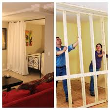 wall room divider hanging room divider kits roommate bedrooms and studio