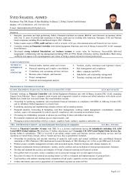 Resume For Board Of Directors Cv Syed Shakeel Ahmed Fcca U0026 Aca