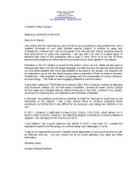 Cover Letter For Any Position 100 Cover Letter Examples For Teaching Job Example Of