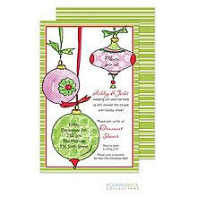 Christmas Ornament Party Invitations - ornament exchange christmas party invitations ornament exchange